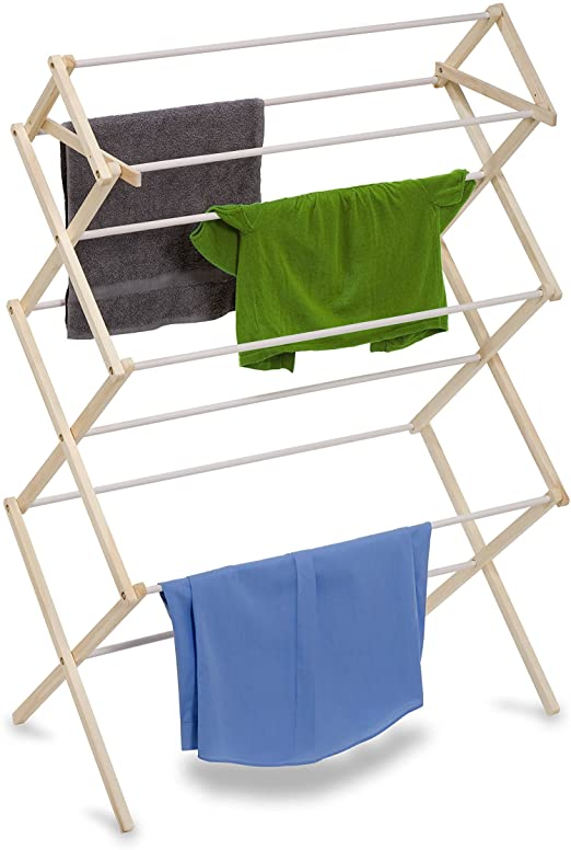 Amazon.com: Honey-Can-Do DRY-01174 Indoor Clothes Drying Rack .