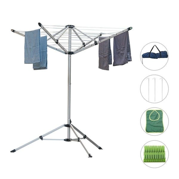 Shop Drynatural Foldable Umbrella Drying Rack Clothes Dryer for .