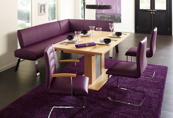 Modern Interior Design and Decor in Purple Color Shad