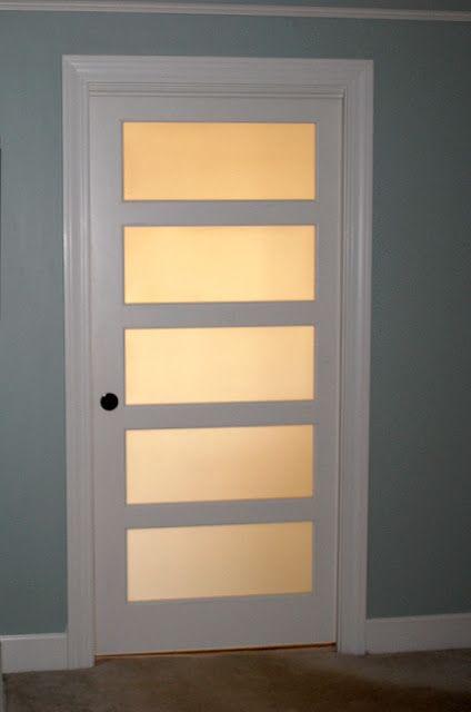 Master Bathroom Reveal | Bedroom door decorations, Glass bathroom .