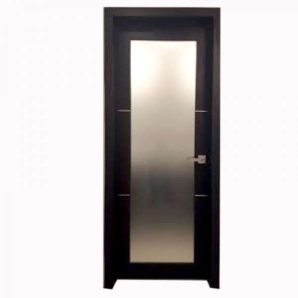 Aries Mia AG135 Interior Door Dark Wenge Finish Frosted Glass .