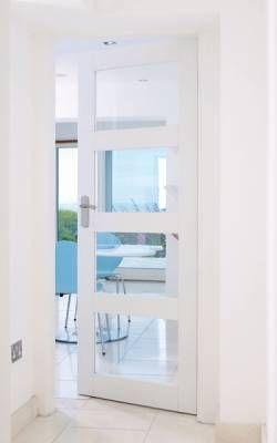 Doors in 2020 | Internal doors modern, Internal glazed doors .