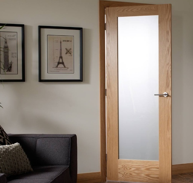 White Glass Panel Interior Doors Ideas to Provide More Privacy at .