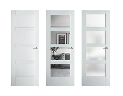 Interior doors - Glass doors - Barn Doors - Office doors -Etched gla