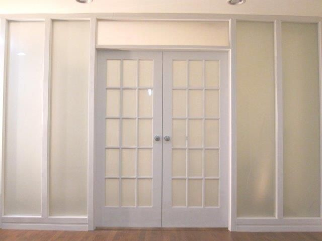 frosted glass french interior doors - Google Search | French doors .