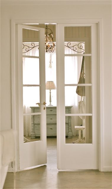 I would like to do a french door on the office door to let light .