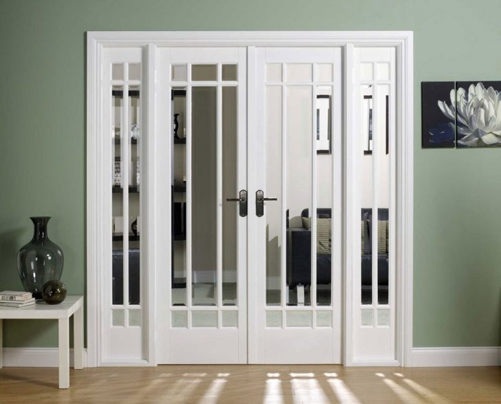 Interior French Doors with gla