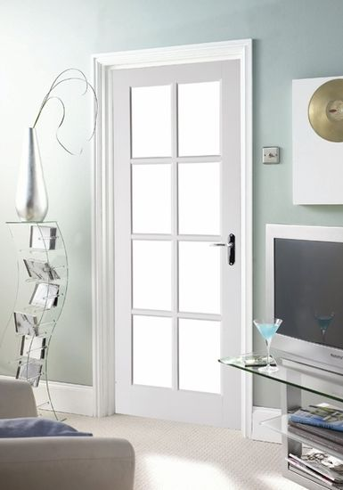 interior French Doors With Glass Panels