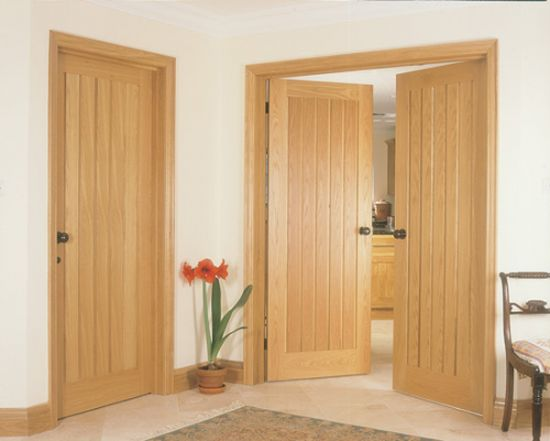 Indoor solid wood doors made of precious kinds of wood will .