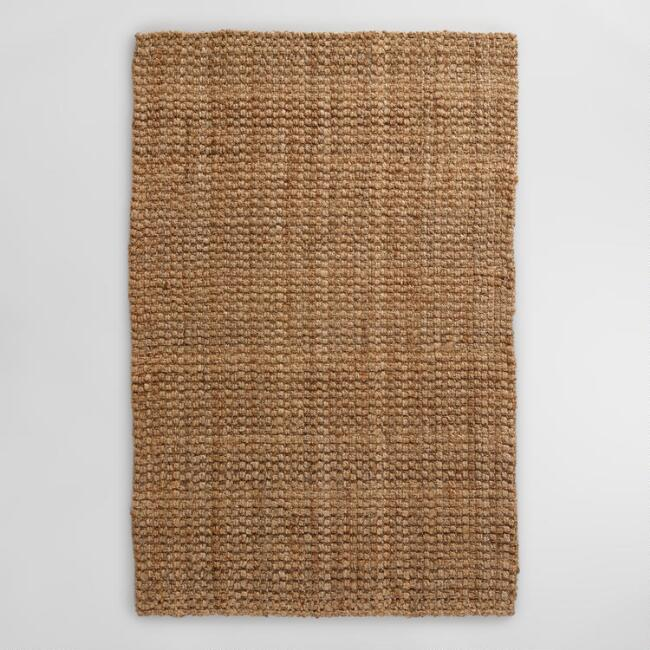 Natural Basket Weave Jute Rug | World Mark