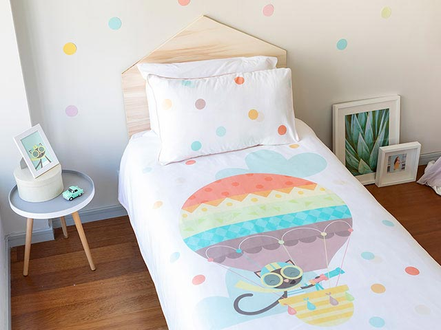 Jeanette the Cat - Organic Kids Bedding Set °°º º°° | Wriggly To