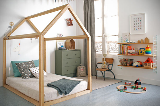A Gallery of Children's Floor Beds | Cool beds for kids, Kid beds .