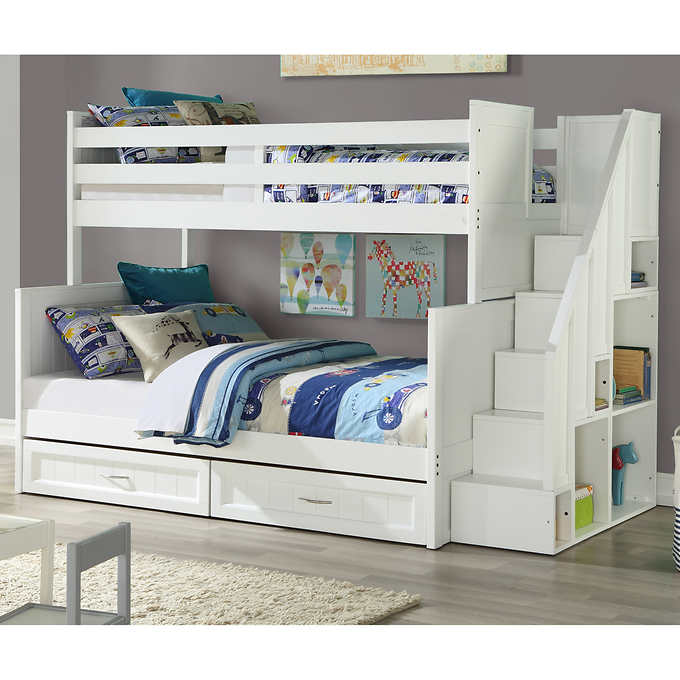 Kids Bunk Beds With Stairs Efistu Com