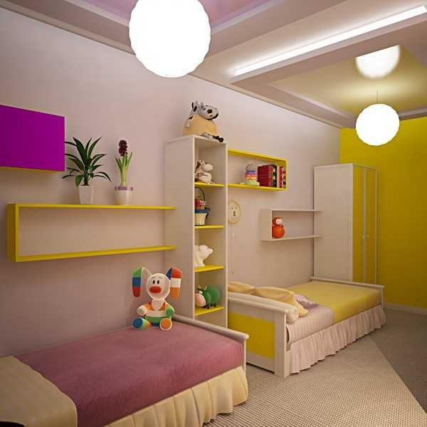 Kids Room Decorating Ideas for Young Boy and Girl Sharing One .