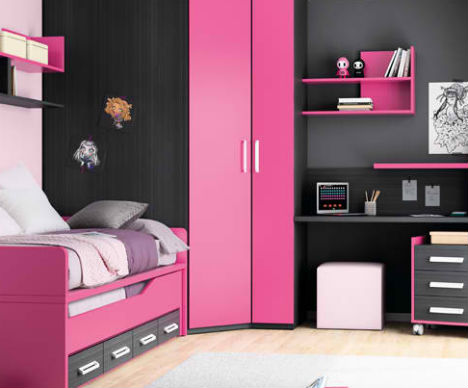 Compact & Colorful Kids Room Design Ideas by KIBUC | Designs .