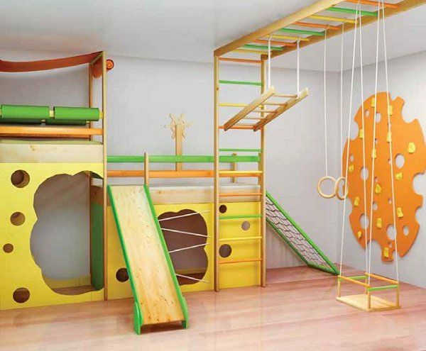 Kids gym – why is it important and how to equip a home gym for .