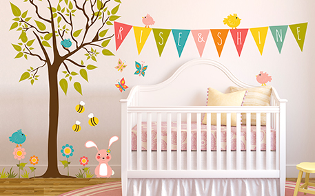 Nursery Wall Decals & Kids Wall Decals | Oopsy Daisy-Fine Art for Ki