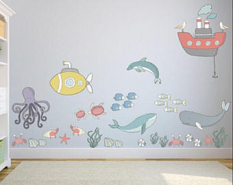 Fantasting Wall Decals For Kids - Decorifus