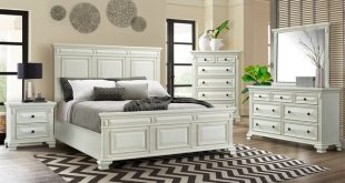 Elements Calloway - 6pc King Bedroom Set - White - PKBCY700-6K .