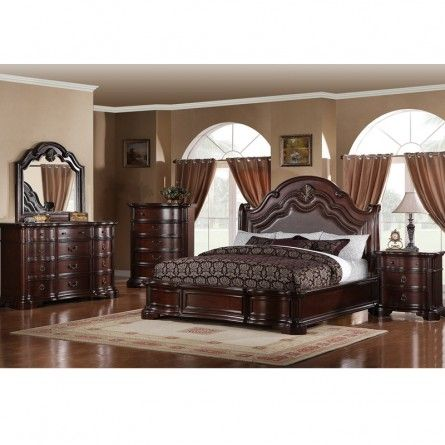 DICKSON CARSON KING BEDROOM SET - BED BEDROOM FURNITURE SETS .