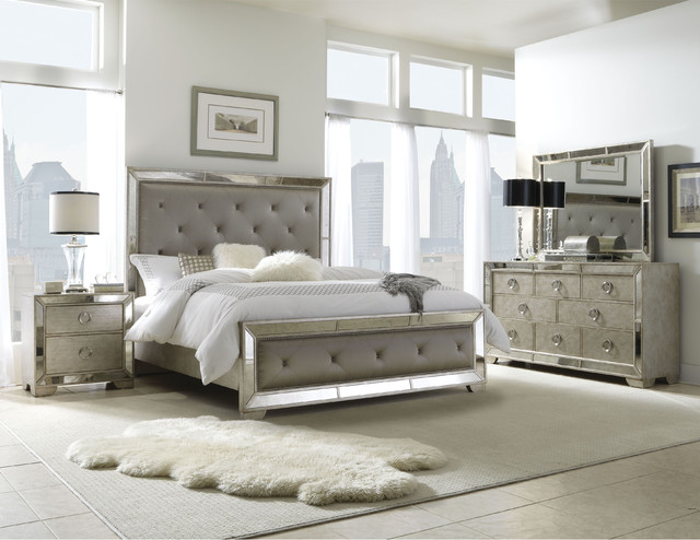 Create Classic Style And Modern With Contemporary King Bedroom Set .