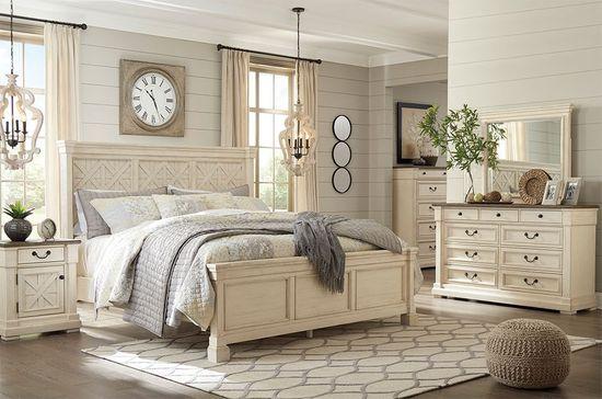 Bolanburg King Panel Bedroom Set | The Furniture Ma