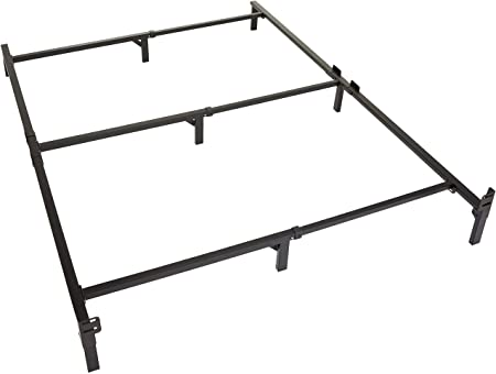 Amazon.com: Amazon Basics 9-Leg Support Bed Frame - Strong Support .