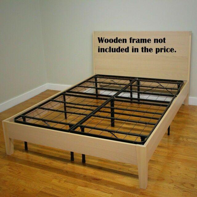 Platform Bed Frame Smart Base Mattress Foundation 14 Inch Box .