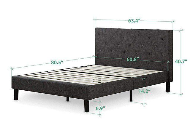 How Wide is a King Size Bed Frame? - The Sleep Jud