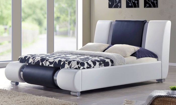 King Size Bed Frame With Mattre