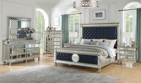 Cosmos Furniture Brooklyn Collection BROOKLYN KING BED SET 6-Piece .