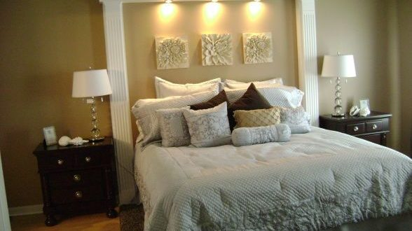 20 Stunning King Size Headboard Ideas | Home bedroom, Home, Home dec