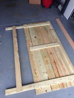 Wooden King Size Headboard - Ideas on Fot