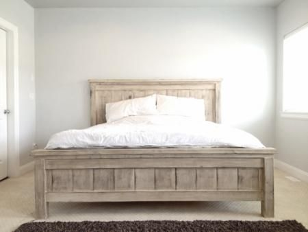 King Farmhouse Bed | Do It Yourself Home Projects from Ana White .
