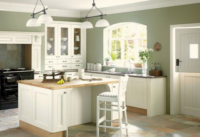 Choose the Best Wall Color for Your Kitchen in 2020 | Green .