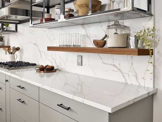 The Top Kitchen Countertops Found in Washington Homes - Precision .