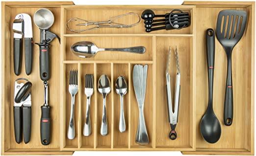 Amazon.com: KitchenEdge Premium Silverware, Flatware and Utensil .