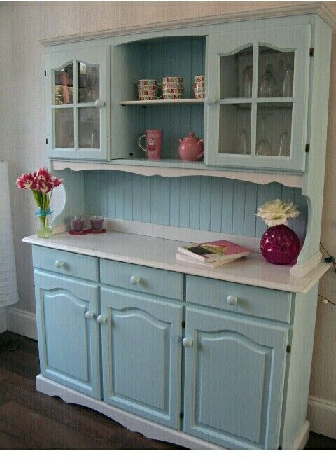 Upcycle an oak dresser for the kitchen | Shabby chic kitch