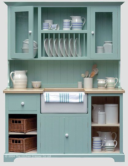 A sink unit dresser from The Kitchen Dresser - excellent idea for .