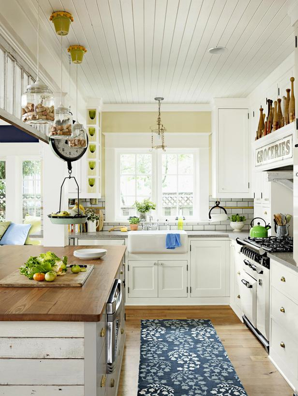 Cottage Kitchen Inspiration - The Inspired Ro