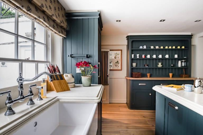 Kitchen Inspiration: Blue Kitchen Design - Scene Thera