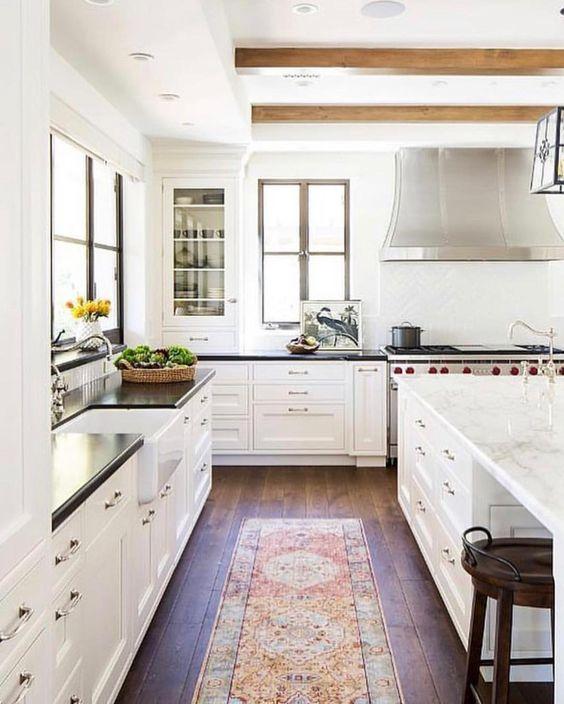 Beautiful Kitchen Inspiration from Pinterest - jane at ho