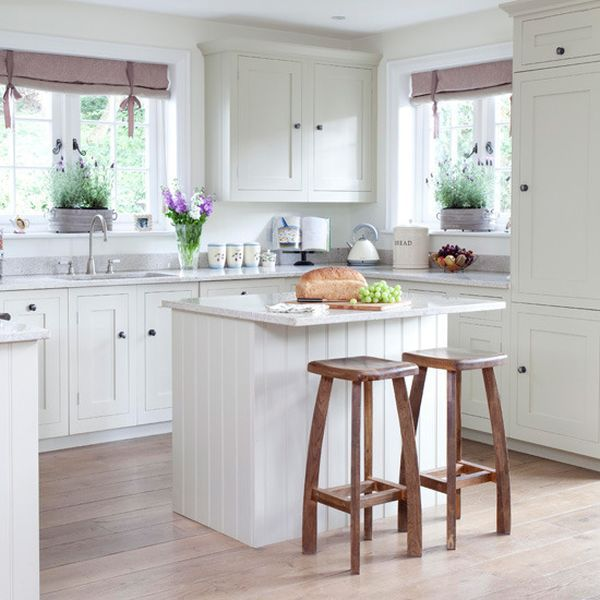 20 Charming cottage-style kitchen decors   Small cottage kitchen .