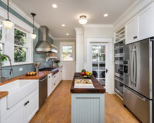 6 Small Kitchens With Islands - Northshore Magazi