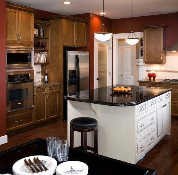 6 Bold & Trendy Kitchen Paint Color Ide