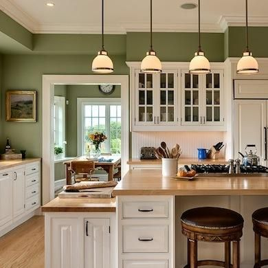 Creative Diy Projects Ideas 2 | Green kitchen walls, Paint for .