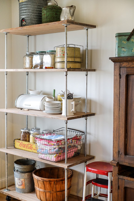 Storage Shortage? Make an Industrial-Style Shelving Un