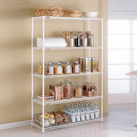 Metal Kitchen Shelves - InterMetro Kitchen Shelves | The Container .