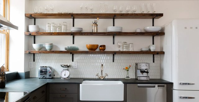 Should You Use Open Shelves in the Kitche
