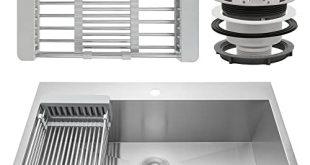Kitchen Sink With Drainboard: Amazon.c